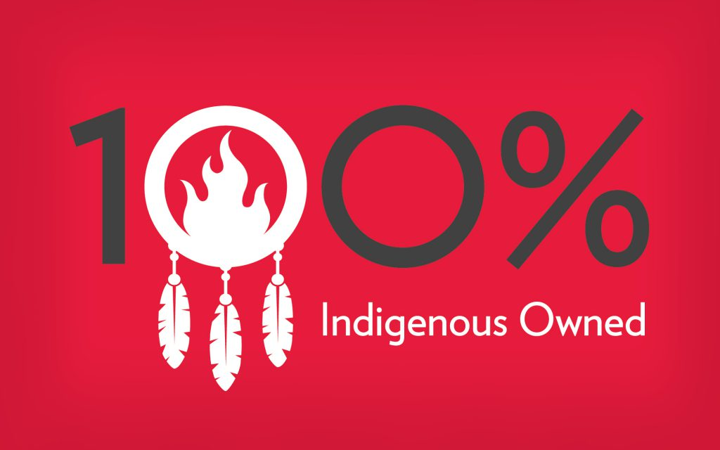 Indigenous owned graphic