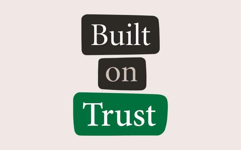 built on trust logo