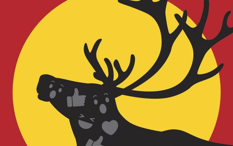 caribou graphic